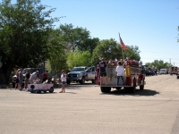 Parade vehicle