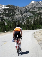 Erik coming up Onion Vallery road